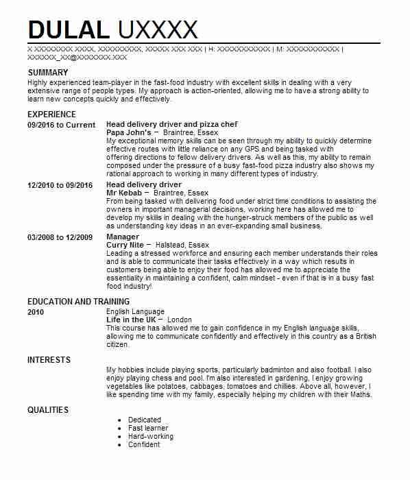 823 Public Service CV Examples Government CVs LiveCareer - resume samples for government jobs
