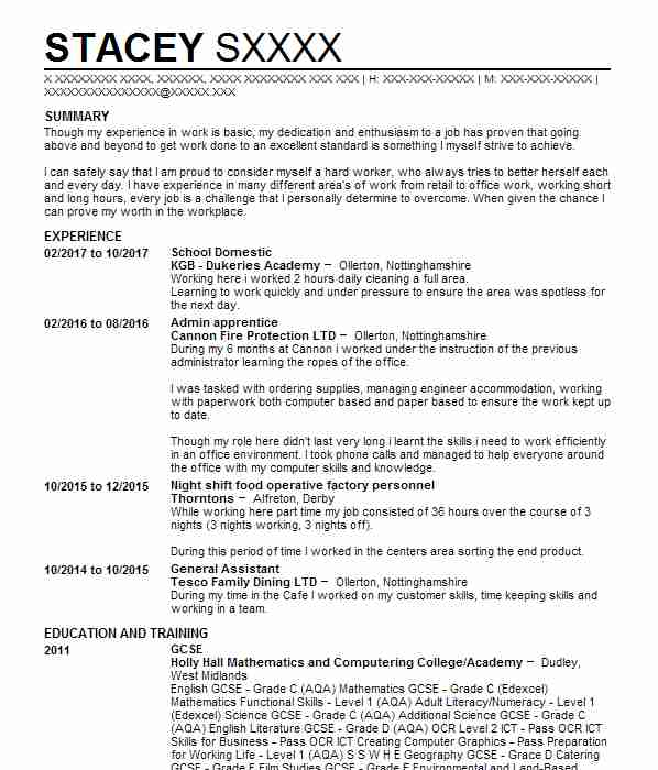5438 Administrative Assistants CV Examples Administrative Support