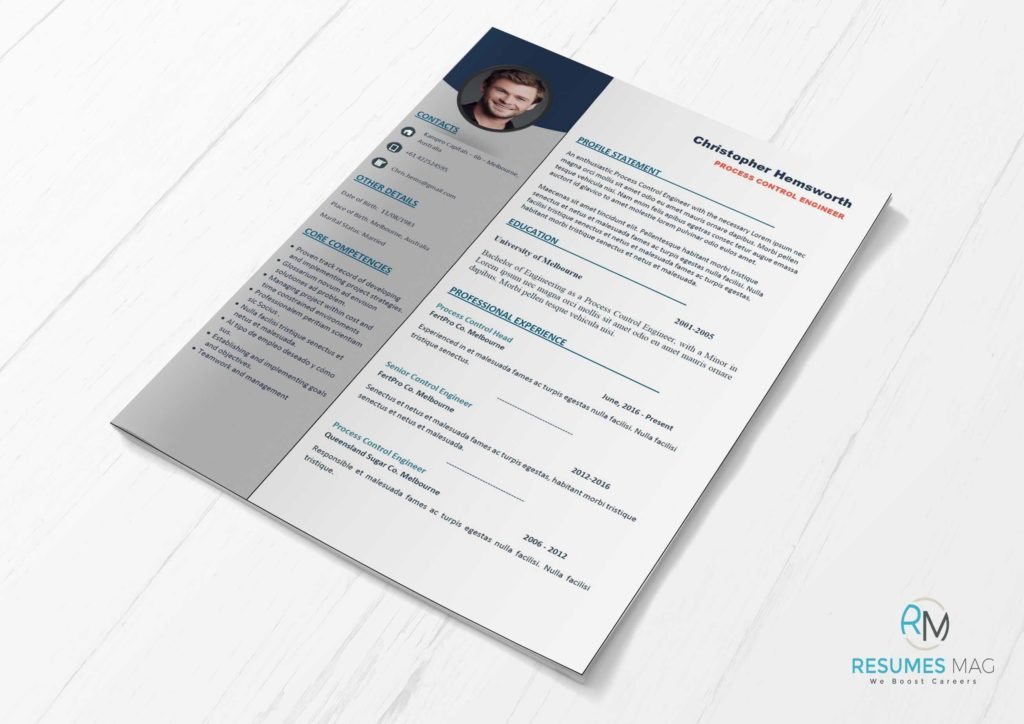 Apex - Two Pages Professional Resume Template - Resumes Mag Resume - professional resumes templates