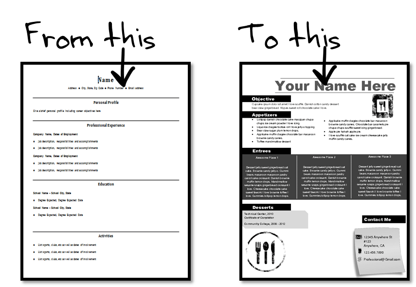 Best Looking Resumes Templates More Resume Samples Best Sample Resume Resume Reinvented Reinventing The Resume
