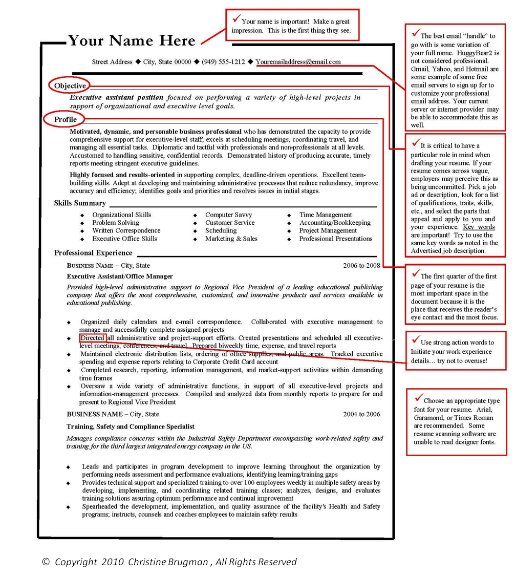 Usajobs Help Center How To Build A Resume Elements Of A Winning Resume R233;sum233;s Right Away Careerblog