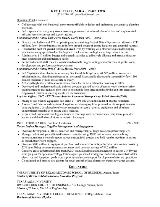 Resume Samples Best Resume Writing Services Hire Resume Writer - best business resume