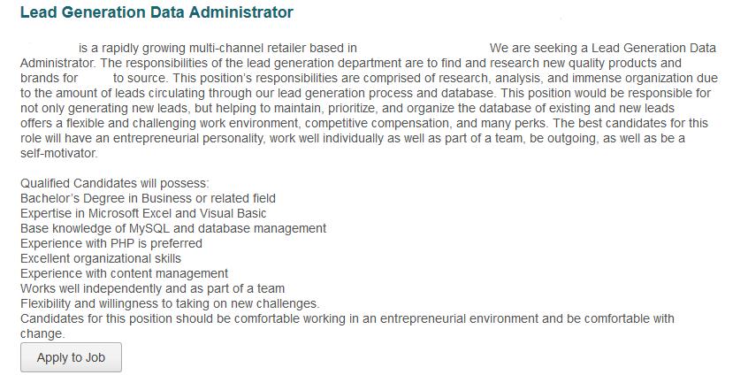 Job Description Sample Recruiter – Recruiter Job Description