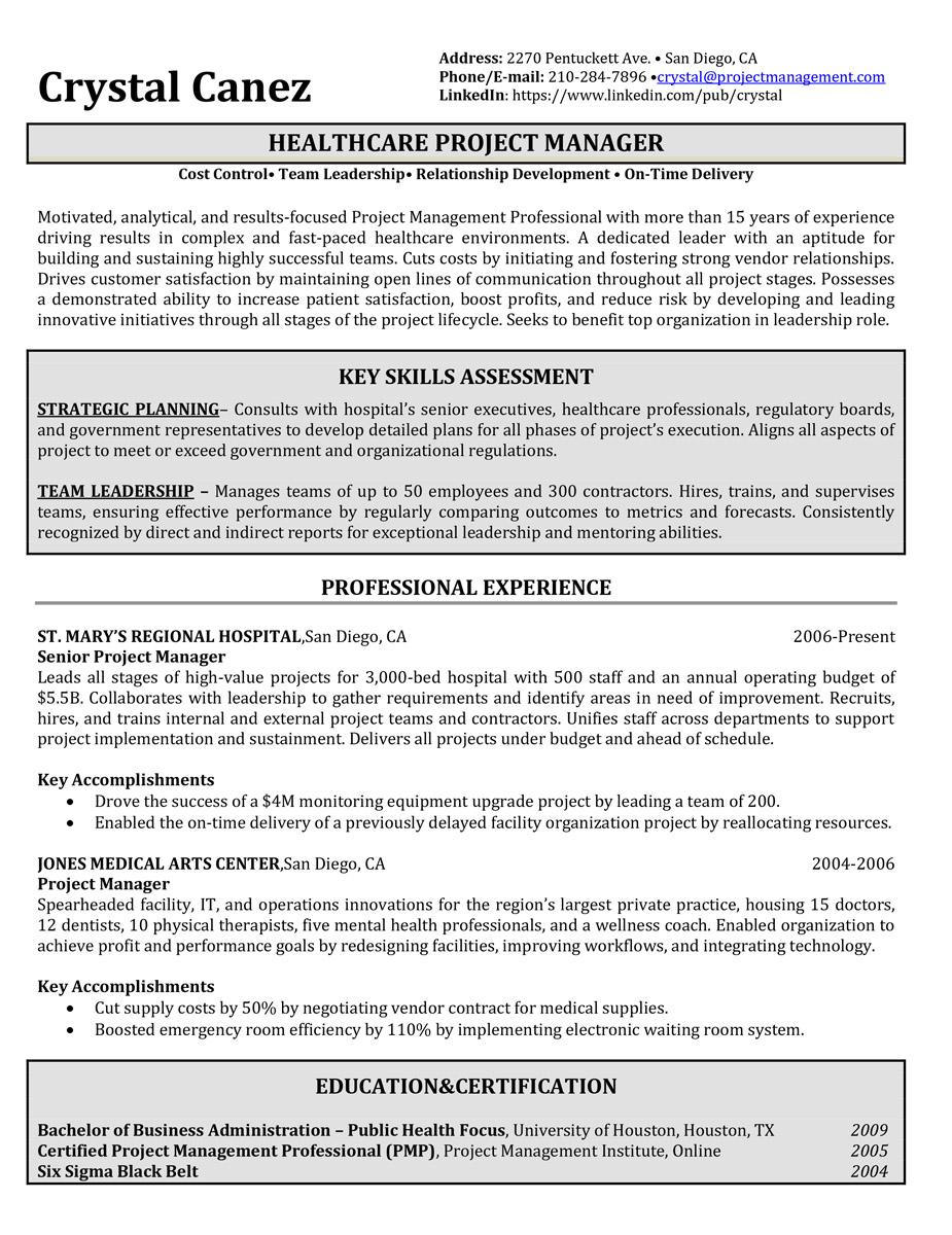 asw resume example