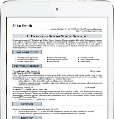 IT Resume Writers for Professionals Resume Writing Lab - Resume For It Professional