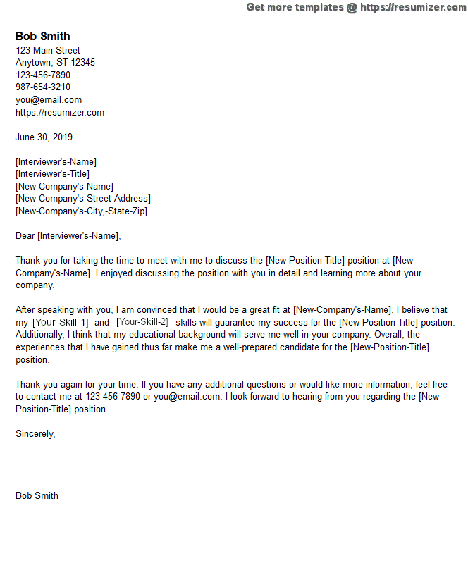 thank you for your consideration resume cover letter