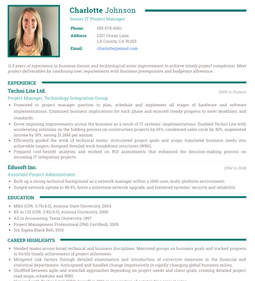 How To Create A Easy Resume Myperfectresume Free Resume Builder Photo Resume Templates Professional Cv Formats Resumonk