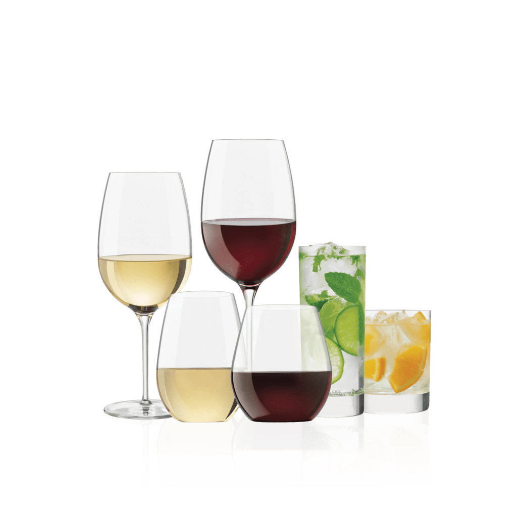 High End Crystal Wine Glasses Libbey Signature Libbey Retail