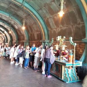 Disney SEA Japan queue line 2