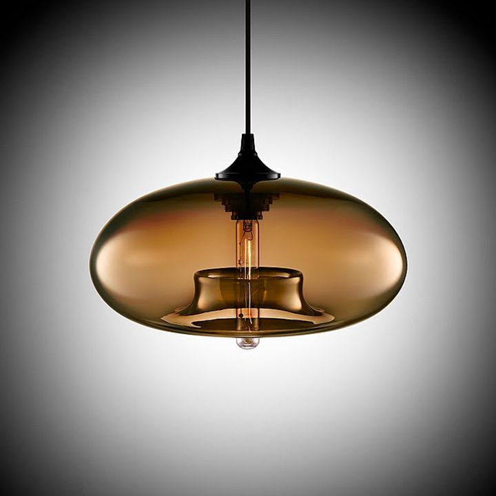 Suspension Cuisine Verre Aurora Modern Pendant Light By Jeremy Pyles For Niche