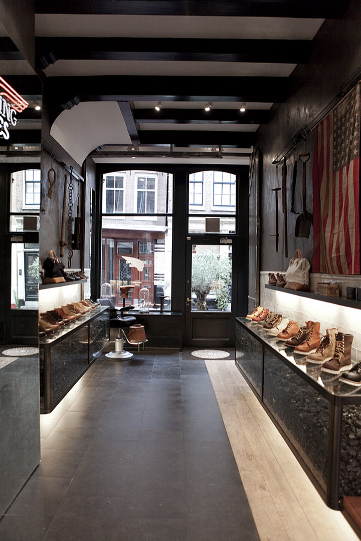 Store Amsterdam Red Wing Shoes Store, Amsterdam » Retail Design Blog