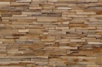 Wooden wall by Wonderwall Studios