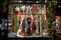 Store Window Christmas Decorations - Christmas Lights Card ...