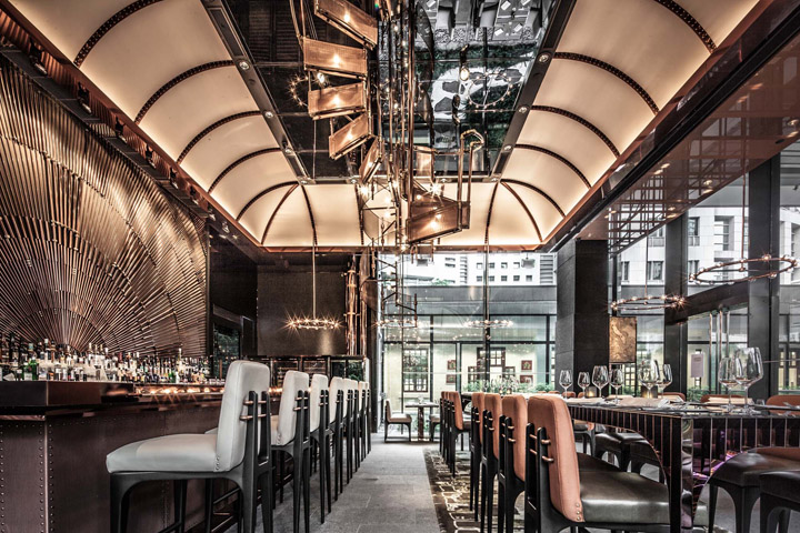 Decoration Bar Pub » Ammo Restaurant By Joyce Wang, Hong Kong