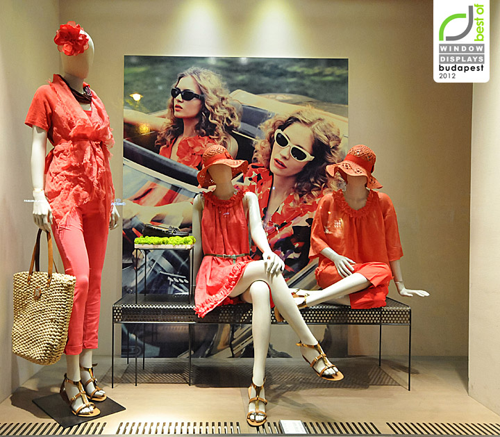 Window Design Pictures India » Max Mara Window Displays Summer 2012, Budapest