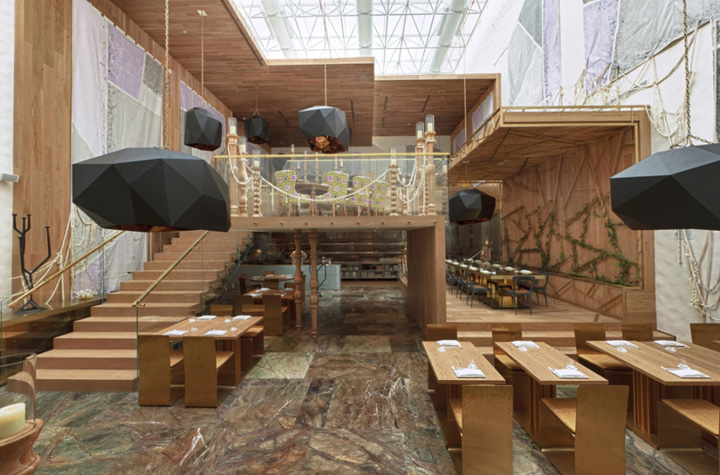 Design Studio Stuttgart » Morimoto Restaurant By Schoos Design, Mexico City