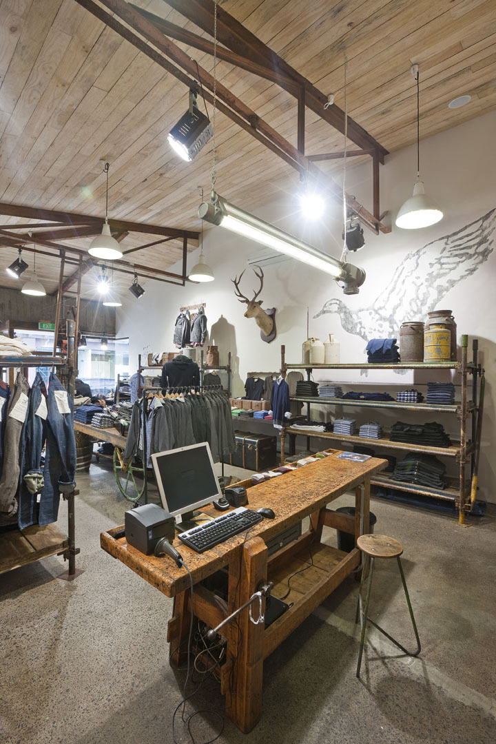 Store Style Industriel » R&g Store By Studio Gascoigne, Auckland