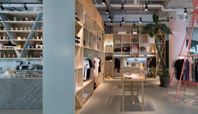 A Curious Teepee lifestyle store & café by Takenouchi Webb ...