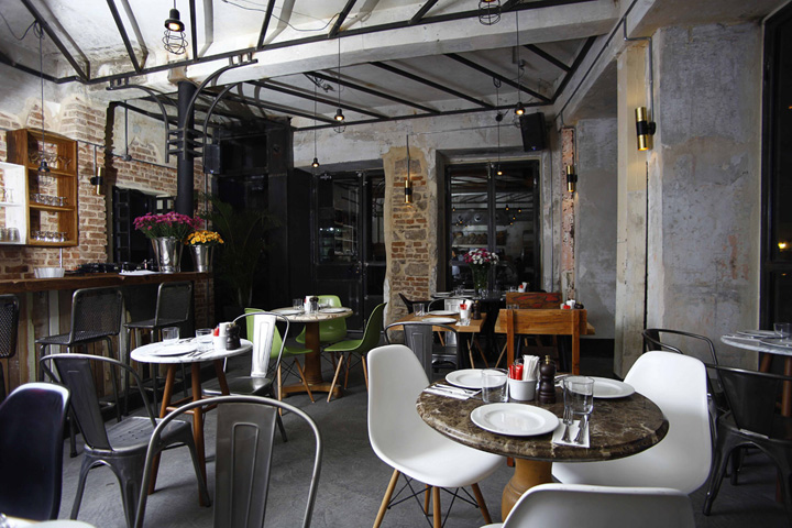 My Home Vastgoed & Interieur Unter Restaurant & Café, Istanbul » Retail Design Blog