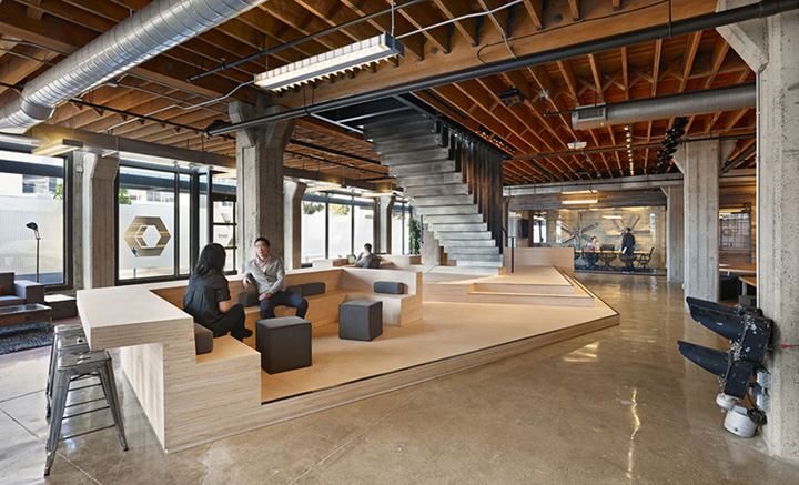 Büro Google Berlin » Heavybit Industries Office By Iwamotoscott Architecture