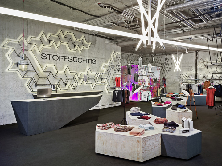 Industrial Design Hamburg Stoffsüchtig Store By Holger Berg, Hamburg – Germany