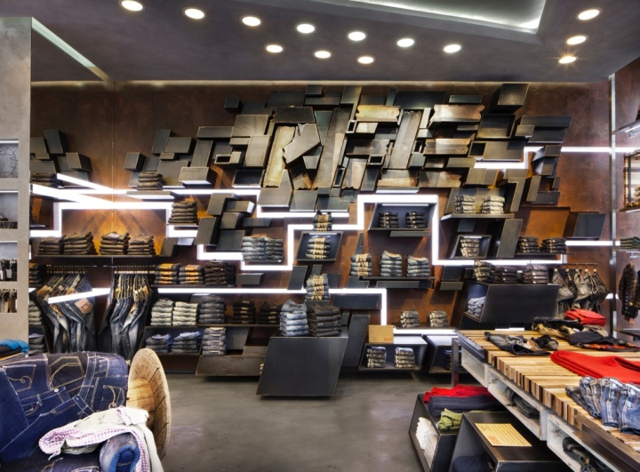 Magasin Decoration Interieur Clermont Ferrand Rifle Flagship Store By David Rossi Design, Milan – Italy