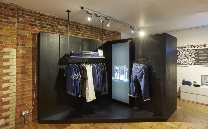 Levis Düsseldorf » Levi's Line 8 Pop-up Shop On Charlotte Road By Formroom