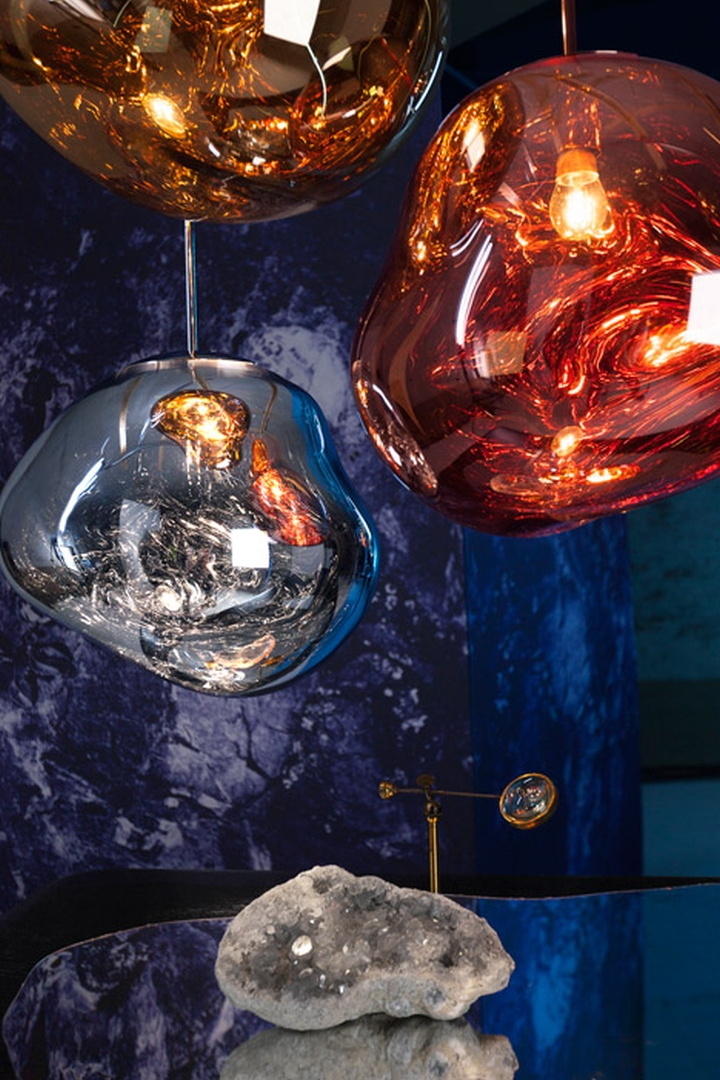 Made In Design Suspension » Melt Pendant Light By Tom Dixon & Front