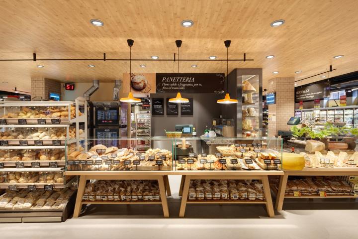 3d Dept Studio Wallpaper 187 Carrefour Gourmet Market By Interstore Design And