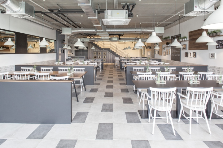 Ceramic Pendant Light » Clintons Restaurant & Staff Canteen By Susanne Kaiser