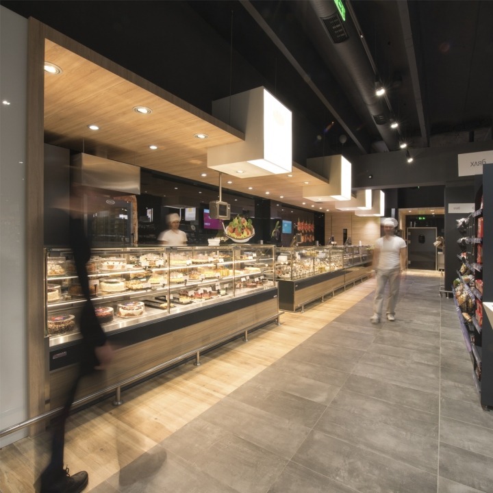 Interieur Warm Modern » Vmv Supermarket By Cityscape Architects, Sofia – Bulgaria