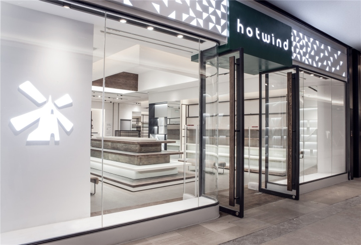 Design Outlet Hamburg » Hotwind Taikoo Li Outlet By Rigidesign, Chengdu – China