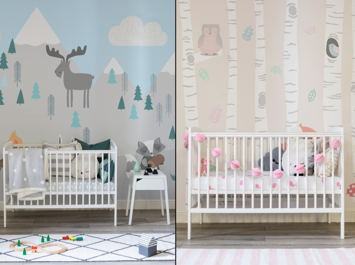 Wandtapete Kinderzimmer » Nursery Wallpaper By Murals Wallpaper