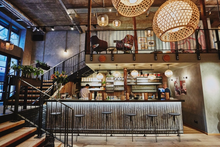 Industrial Design Hamburg Coa Hamburg Restaurant By Dippold, Hamburg – Germany