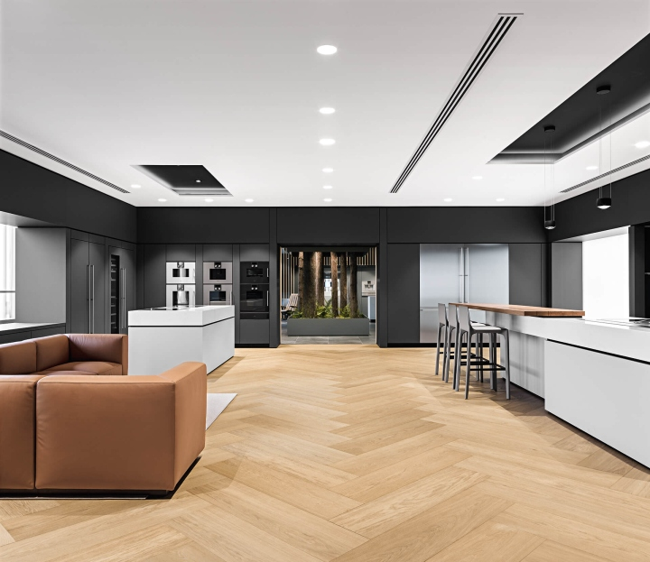 Gaggenau Flagship Showroom By Einszu33 Chengdu China - Gaggenau Cuisine