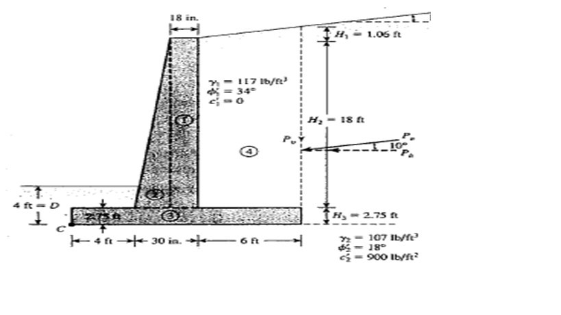 Retaining Wall Design Calculations Basic calculations needed to - Design Of Retaining Walls Examples