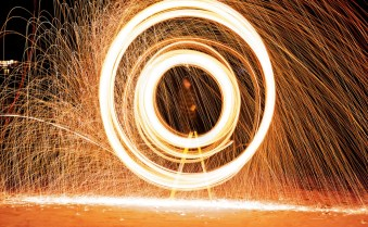 firework circle