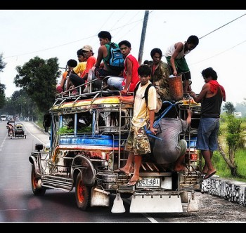 Overloaded Jeepney