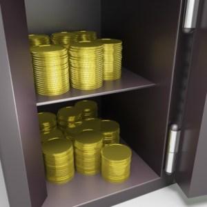 coin vault by Stuart Miles