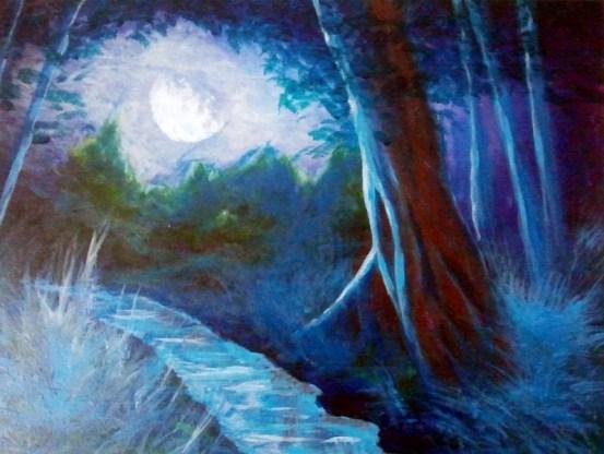 La Noche, Autor: Jose Manuel Gallego Garcia, visit: retratarte.org