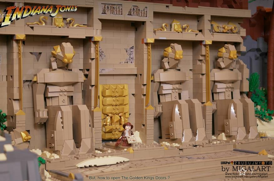 Vinyl Art Lego Indiana Jones Diorama – Retrenders