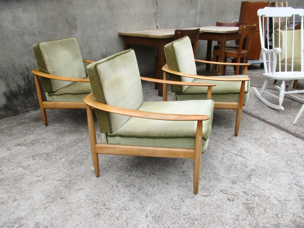 Cocktailsessel Retro Wareneingang Easy Chairs Schaukelstuhl Cocktailsessel