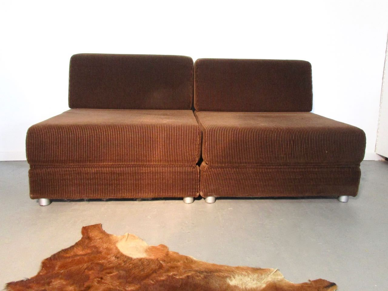 Cord Sessel Sold Seventies Cordsessel Schlafsofa Retro Salon Cologne