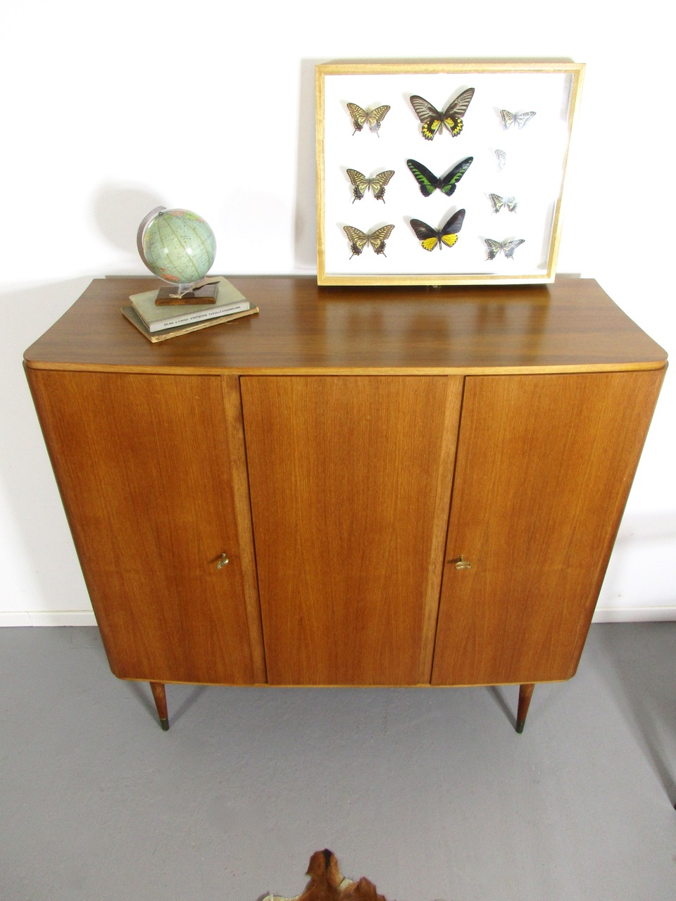 Highboard Nussbaum Satin Highboard Nussbaum Excellent Beautiful Cool Beautiful Highboard