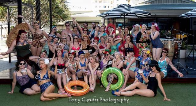 Pin Up Pool Party QT Hotel
