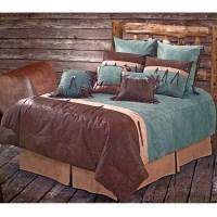 San Juan Turquoise Western Bedding Comforter Set Twin Size