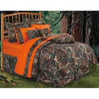 Western Bedding Camo Bedding Set Oak Full
