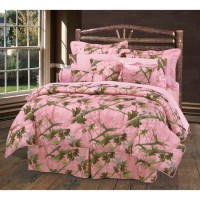 Western Bedding Pink Camo Bedding Set Queen