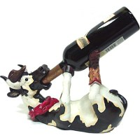 Drinking Cow Western Decor Bottle Holder