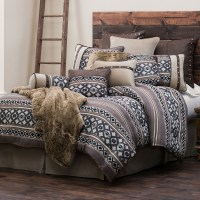 Tucson Southwestern Geometric Pattern Western Bedding Set Twin